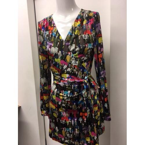 Mini Printed Dress