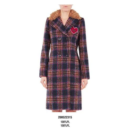 Red - Blue Plaid Coat