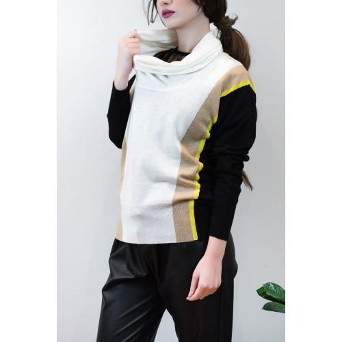 Pullover Polo neck