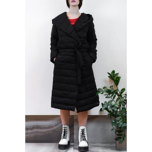 Jacket Thick Long Black