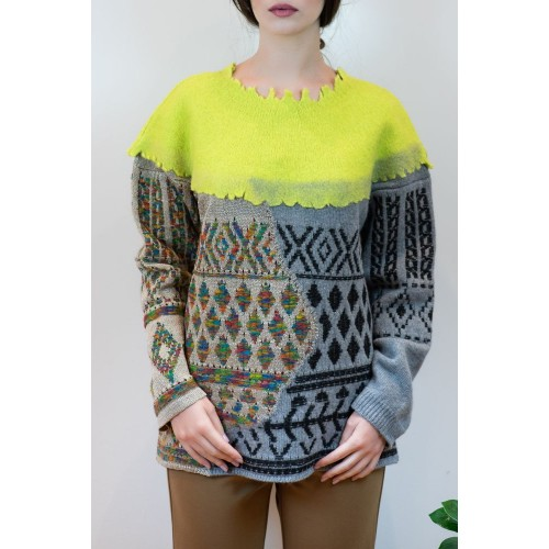 Sweater with Various Designs