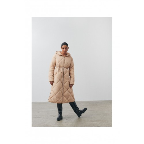 Beige Long Jacket